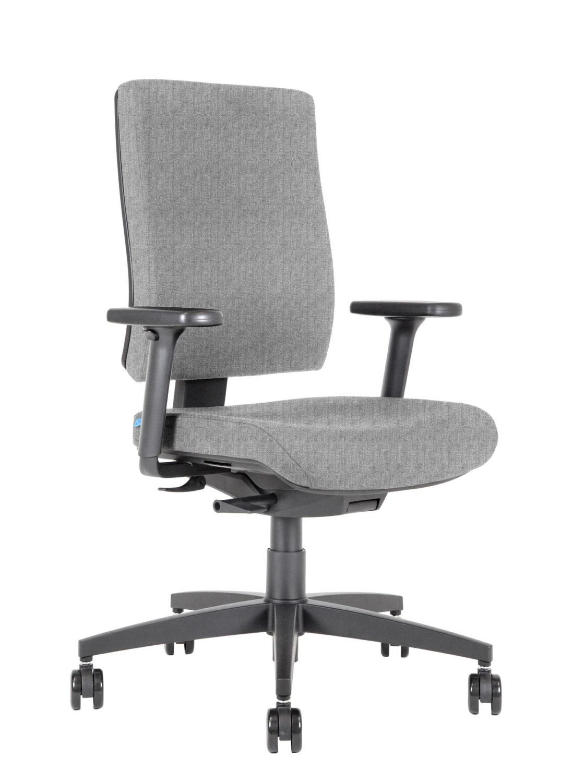 BB105 Kleos sedia ufficio argento 3qsx