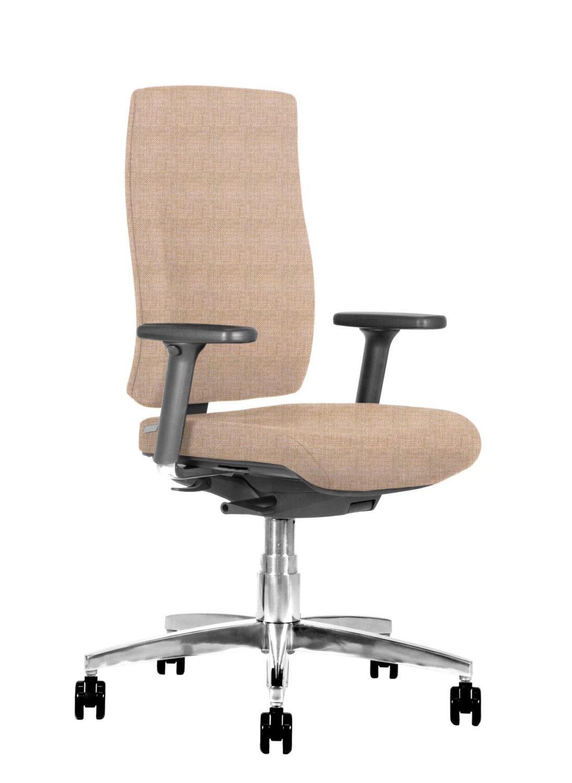 BB107 Sedia ufficio ergonomica 3q sabbia