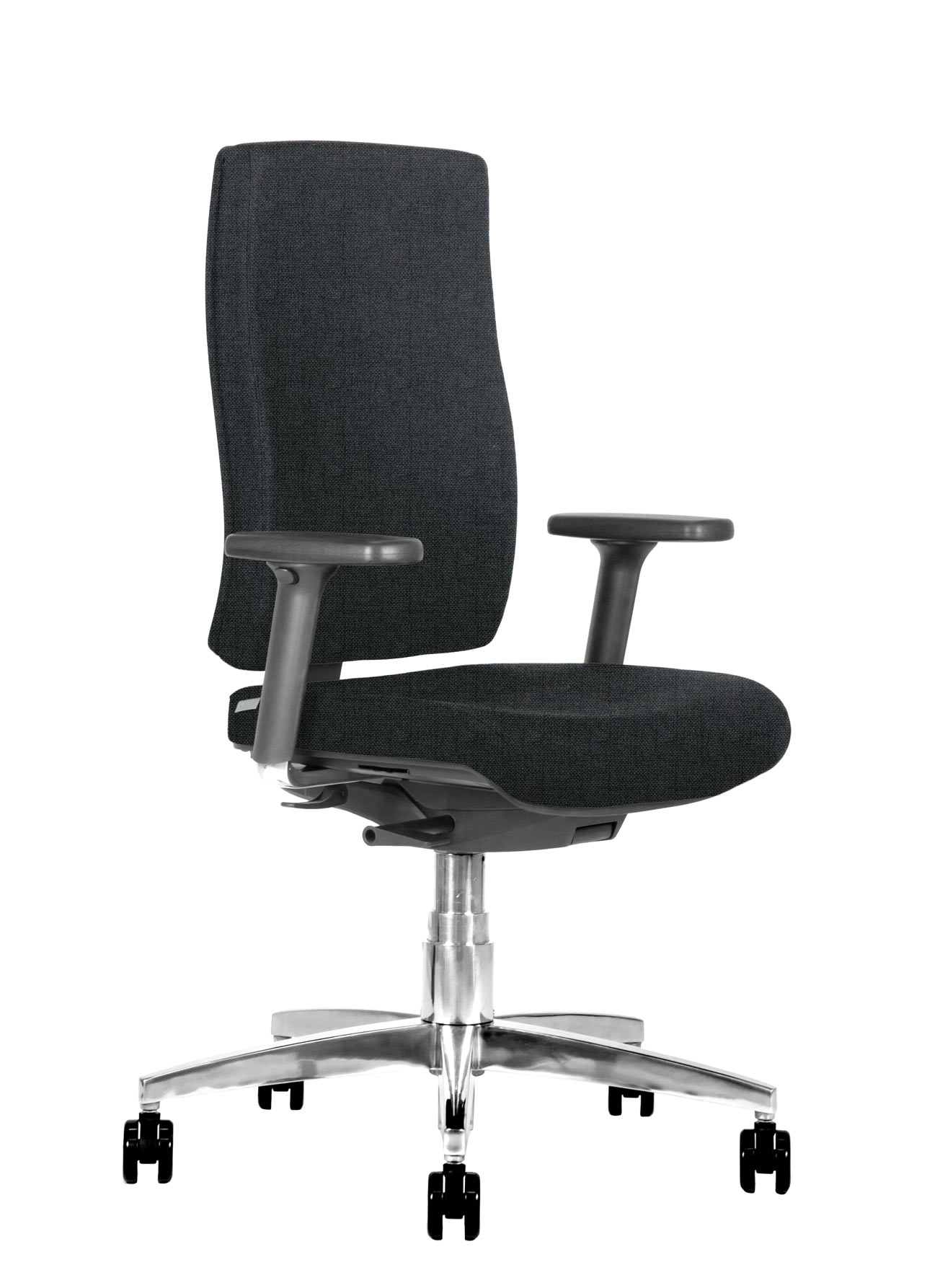 BB107 Sedia ufficio ergonomica 3q nero