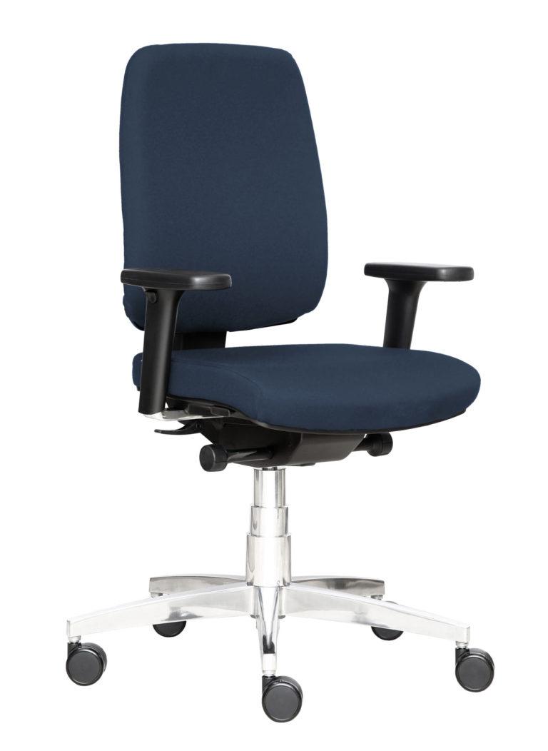 Sedia da ufficio con rotelle BB129 ergonomica Kleos