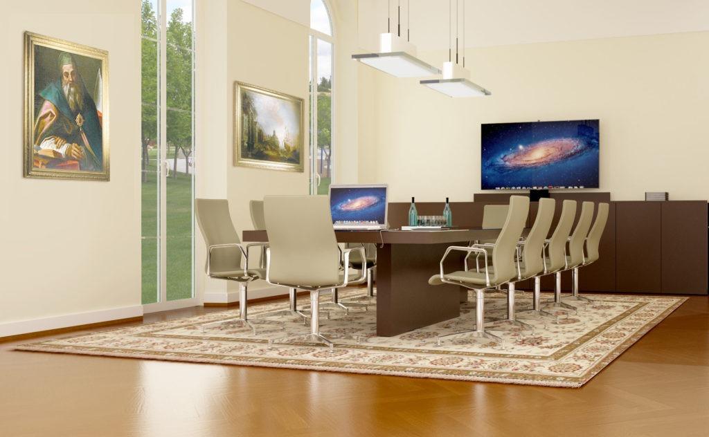 Ba4 6 Tavoli Riunione Per Ufficio Kleos Compositeur D Espace
