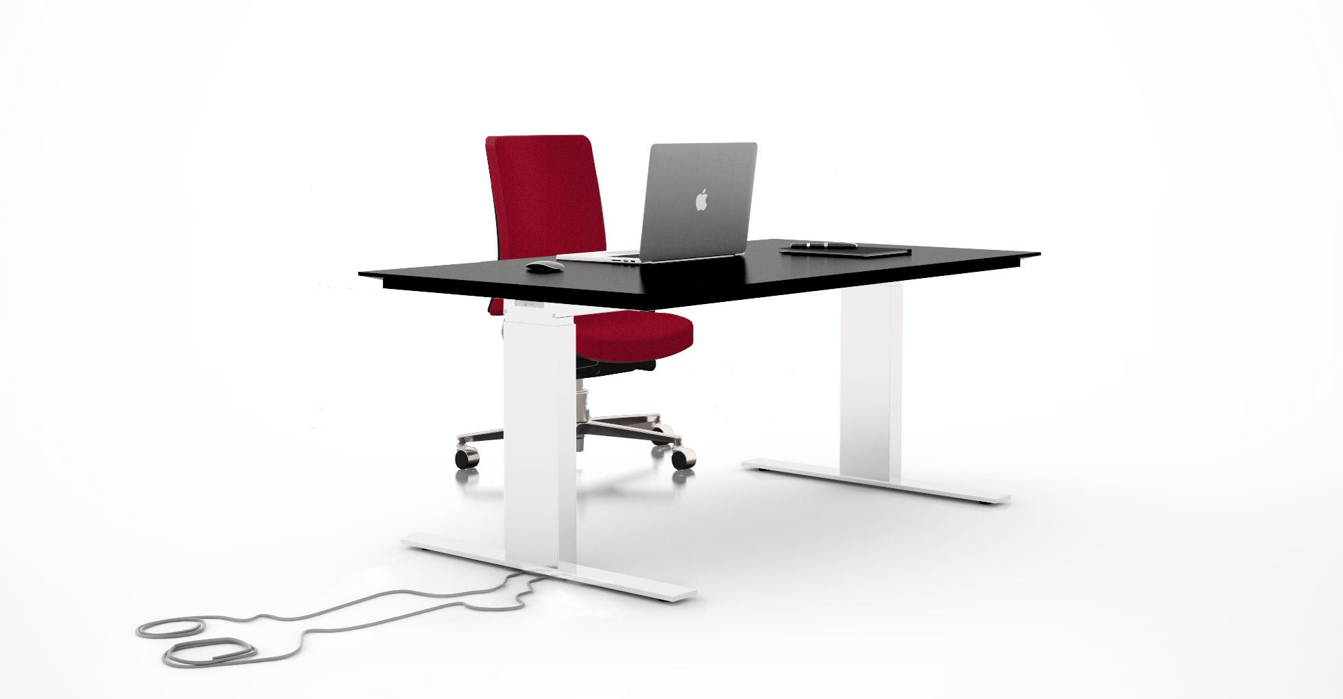 Scrivania ergonomica regolabile in altezza BA4.15