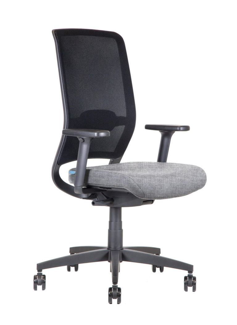BB106 Task chair - Silver