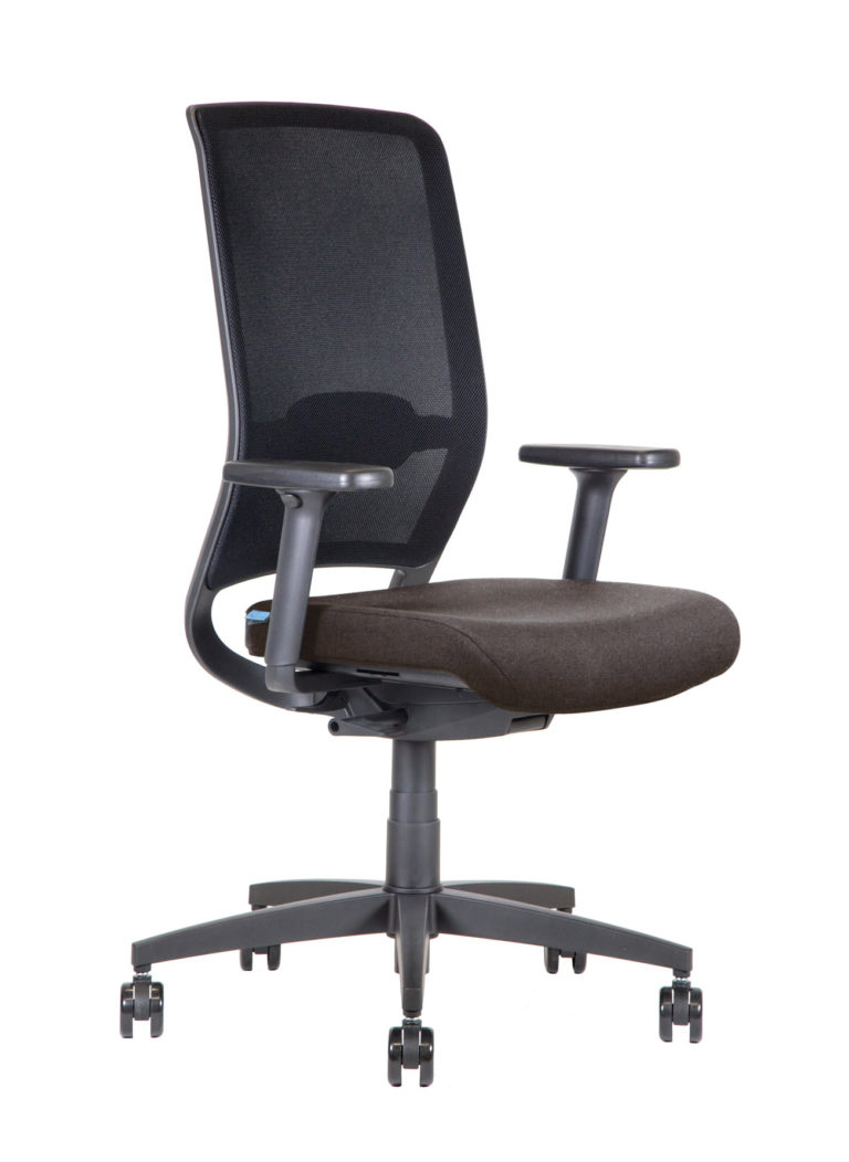 BB106 Task chair - Mahogany