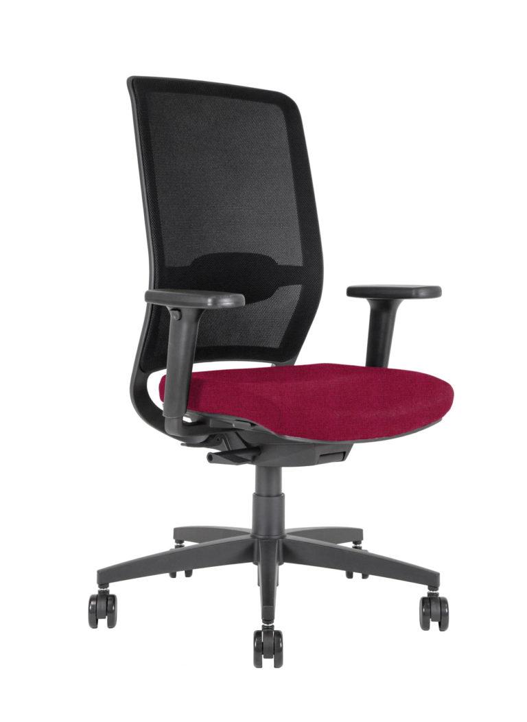 BB110 task Chair - garnet