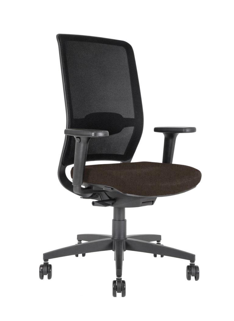 BB110 task Chair - mahogany