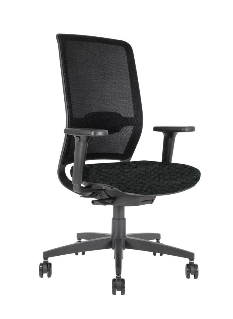 BB110 Sedia ufficio con schienale in rete