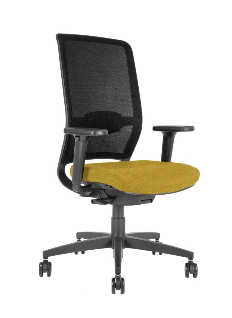BB110 task Chair - saffron