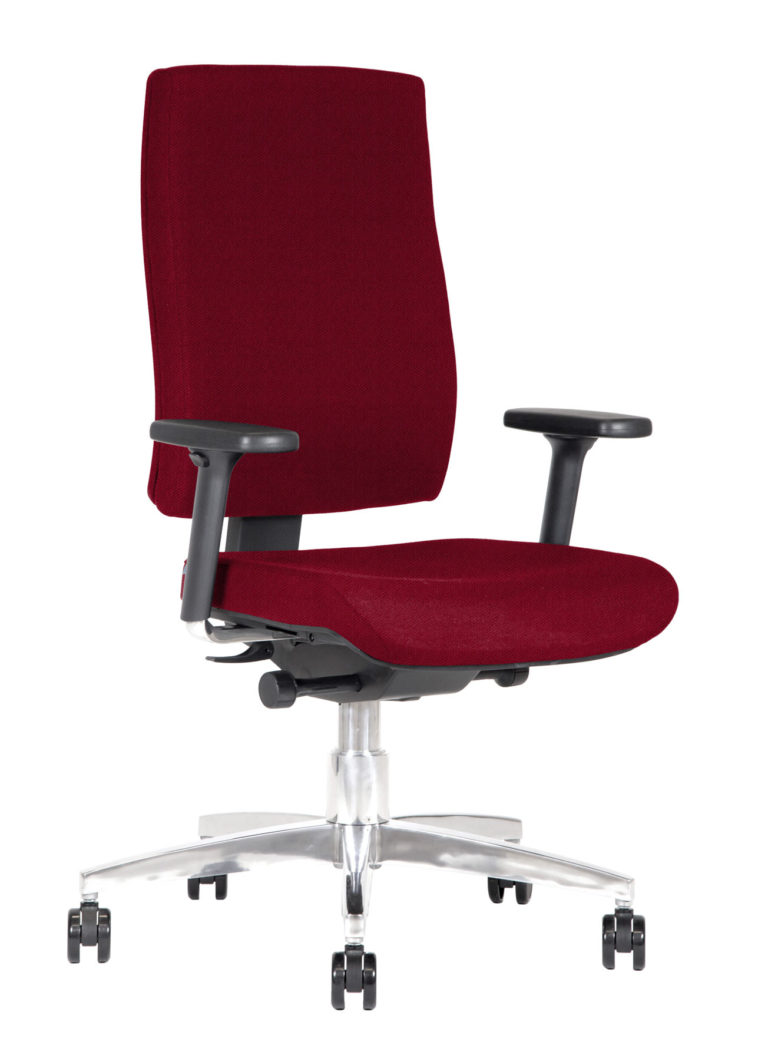 BB127 Task chair - Colette Cardinal red