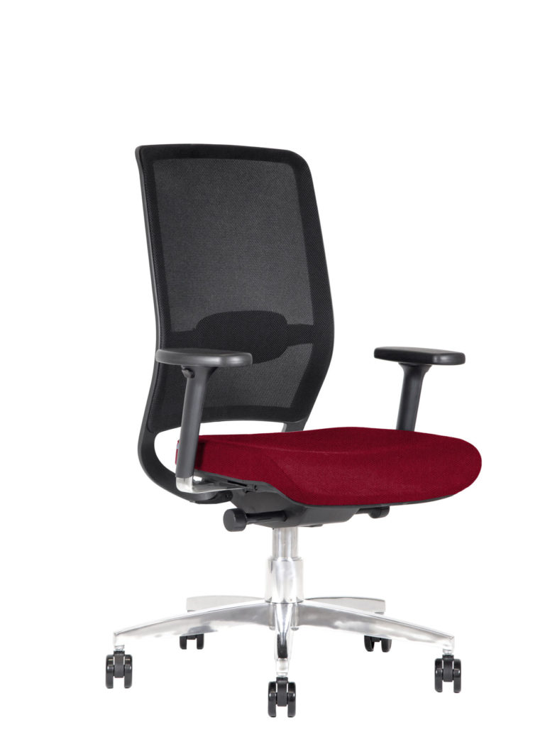 BB128 Task chair - Colette Cardinal Red
