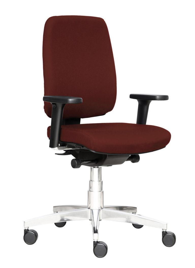 BB129 Chair - Burgundy