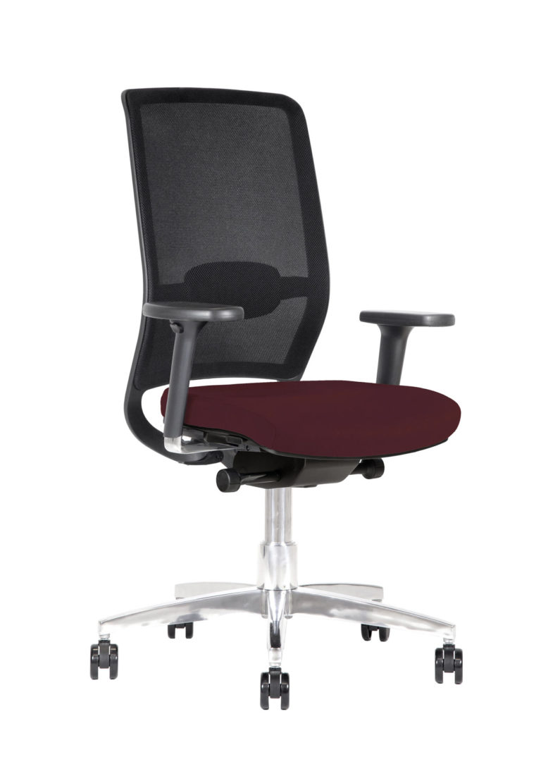 BB132 chair - Burgundy