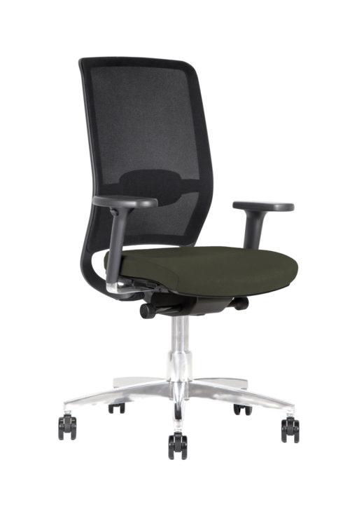 Sedia ufficio ergonomica schienale in rete Kleos BB132