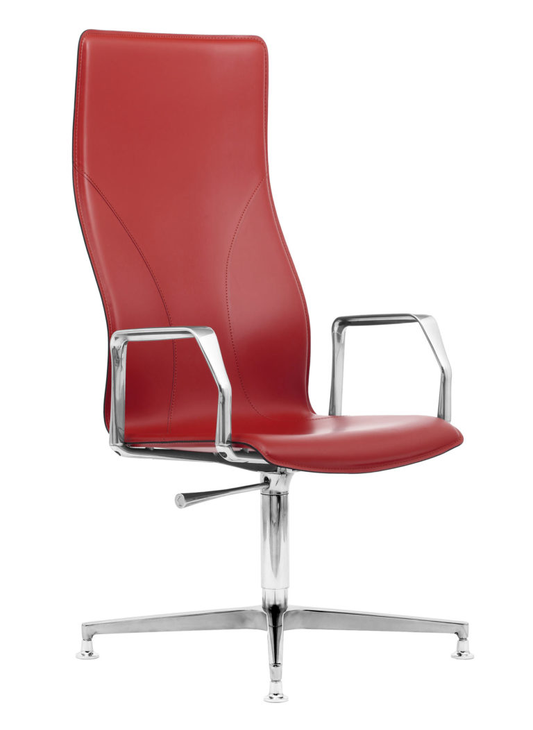 BB641.12 Chair - Vermillion