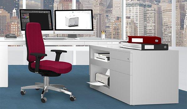 Ba sideboard per ufficio scrivanie e tavoli da lavoro kleos