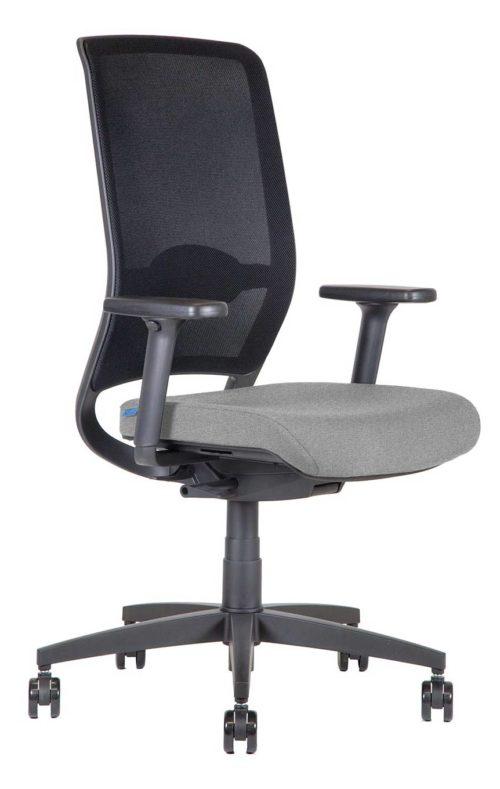 BB106 argento Sedia ufficio girevole 3q