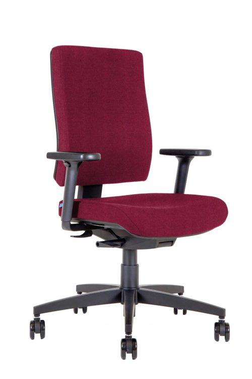 BB105 Kleos sedia ufficio granata 3qf