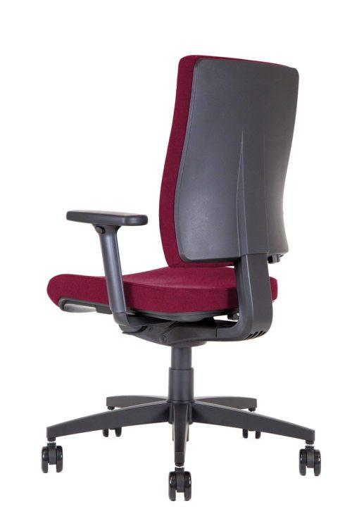 BB105 Kleos sedia ufficio granata 3qr