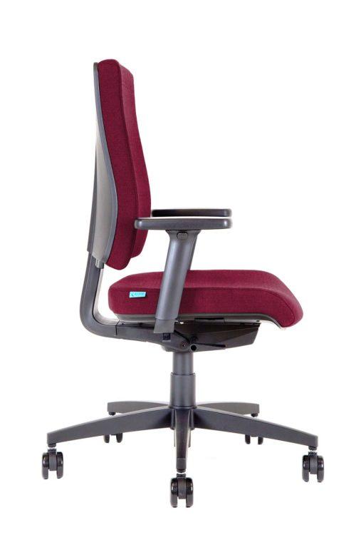 BB105 Kleos sedia ufficio granata prof