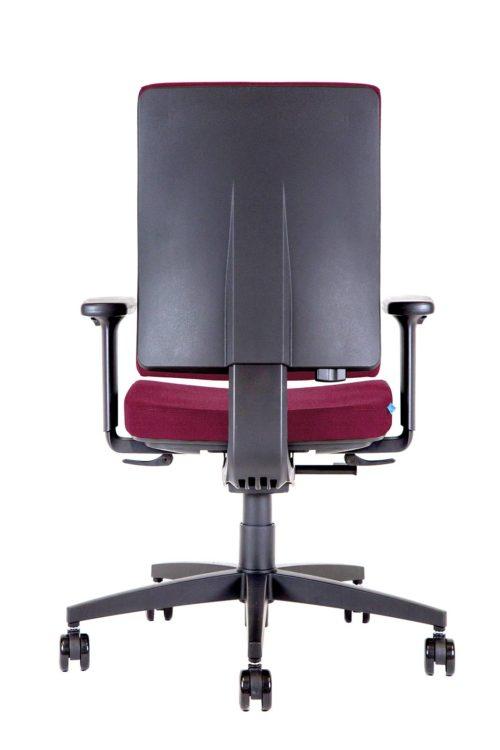 BB105 Kleos sedia ufficio granata retro