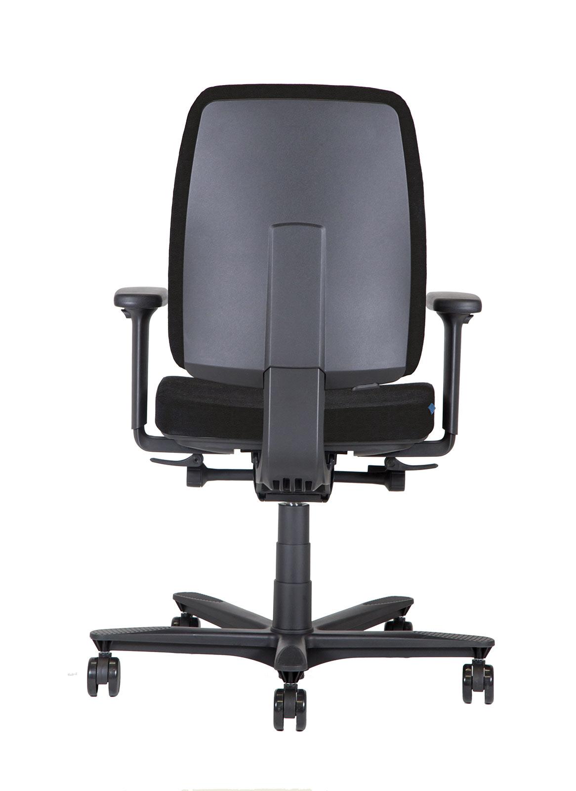 BB122 Sedia ufficio ergonomica Retro_nero