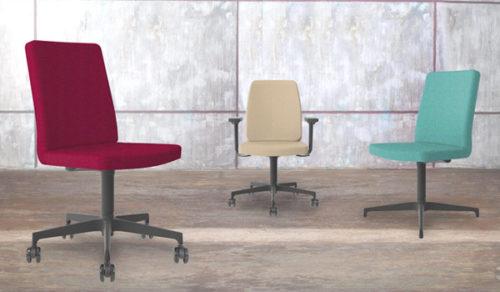 Sedie E Sedute Per Ufficio.Sedie Da Ufficio E Sedute Ospiti Kleos Compositeur D Espace