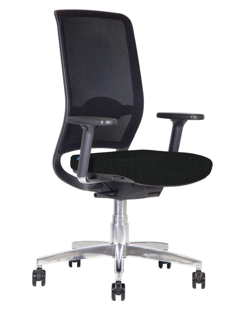 Sedia da ufficio Kleos BB108 con schienale in rete