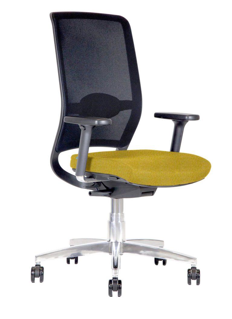 BB112 Sedia ufficio Kleos con schienale in rete