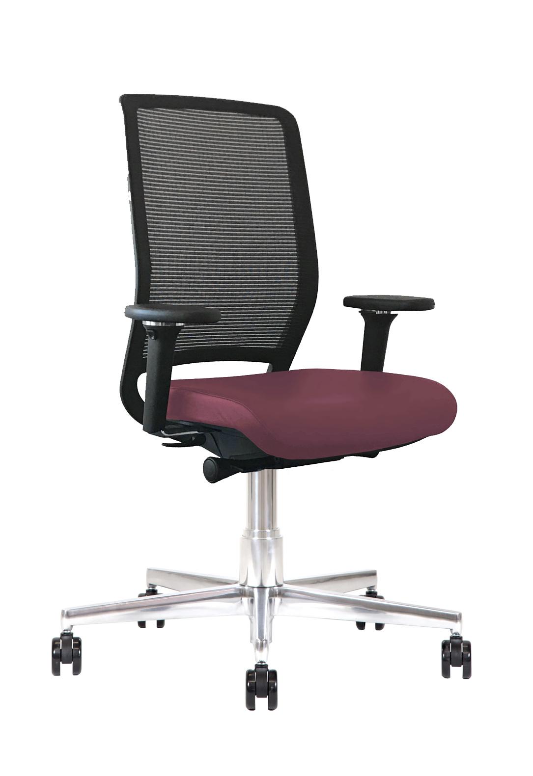 Sedia ufficio manageriale pelle Kleos BB214